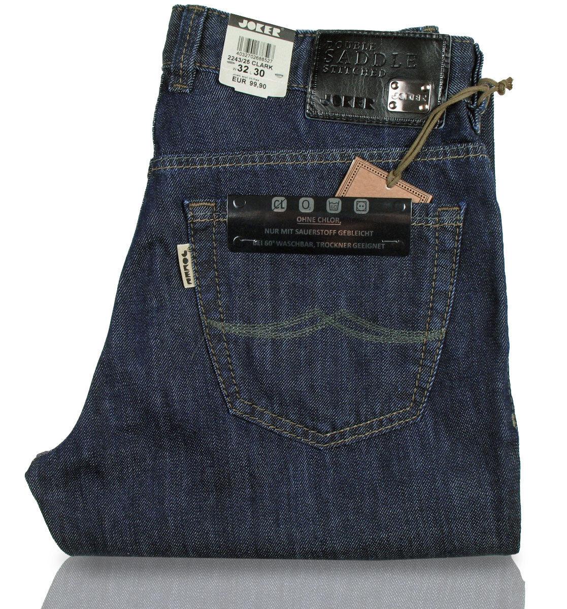 JOKER Jeans   Clark 2243 2243 2243 25 ( Comfort Fit ) dark Blau rinsed e4e3a5