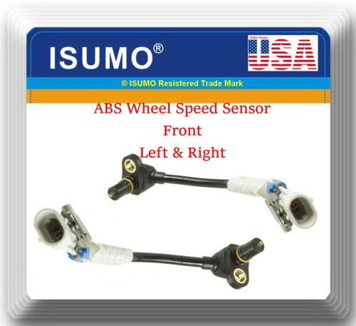 OE Spec SET 2 ABS Wheel Speed Sensor Front Left /& Right Fits:EQUINOX TORRENT VUE