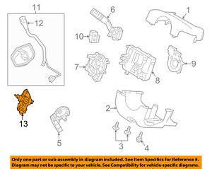 ford oem 13 18 taurus steering column shift bowl dg1z7210f ebay 1999 Ford Taurus Power Steering Diagram image is loading ford oem 13 18 taurus steering column shift