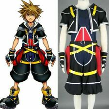Cosonsen Kingdom Hearts Sora Cosplay Costume All Size Custom Made
