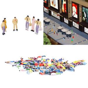 AS-100PC-1-100-BUILDING-LAYOUT-MODEL-PEOPLE-FIGURE-MINIATURE-SCENE-DECOR-HOT-OR
