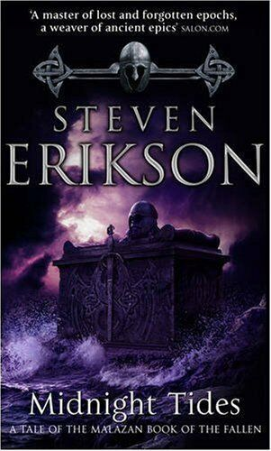 1 of 1 - Midnight Tides (Book 5 of The Malazan Book of the..., Erikson, Steven 0553813145