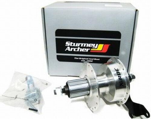 Sturmey Archer X-RDC Drum Brake Cassette Hub 36h 135mm Bicycle touring 8-9-10sp