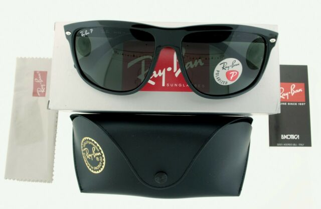 ffd7768ac62 RAY-BAN SUNGLASSES RB 4147 601 58 60MM 60158 BLACK GREEN POLARIZED NEW  AUTHENTIC