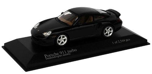 Minichamps 1 43 1999 Porsche 911 Turbo Green