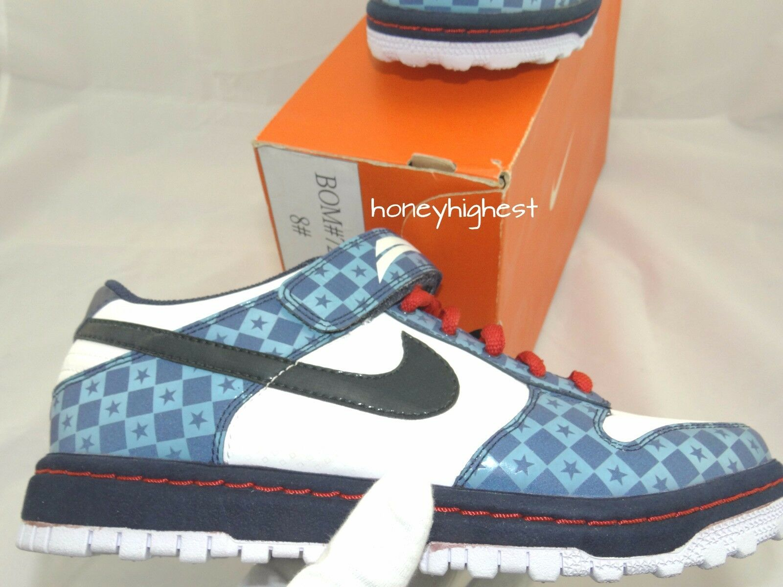 SAMPLE Nike Dunk Gyrizo BMX 330789-141 SB pigeon paris supreme denim lobster