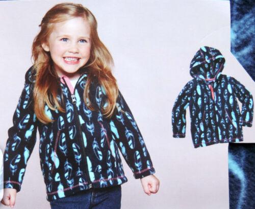 Mädchen Fleecejacke mit Kapuze Fleece Pullover Jacke Kinder Winterpullover NEU