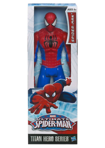 Marvel-Ultimate-12-in-environ-30-48-cm-Spider-Man-Titan-Hero-Series-by-Hasbro-A1517-NEUF