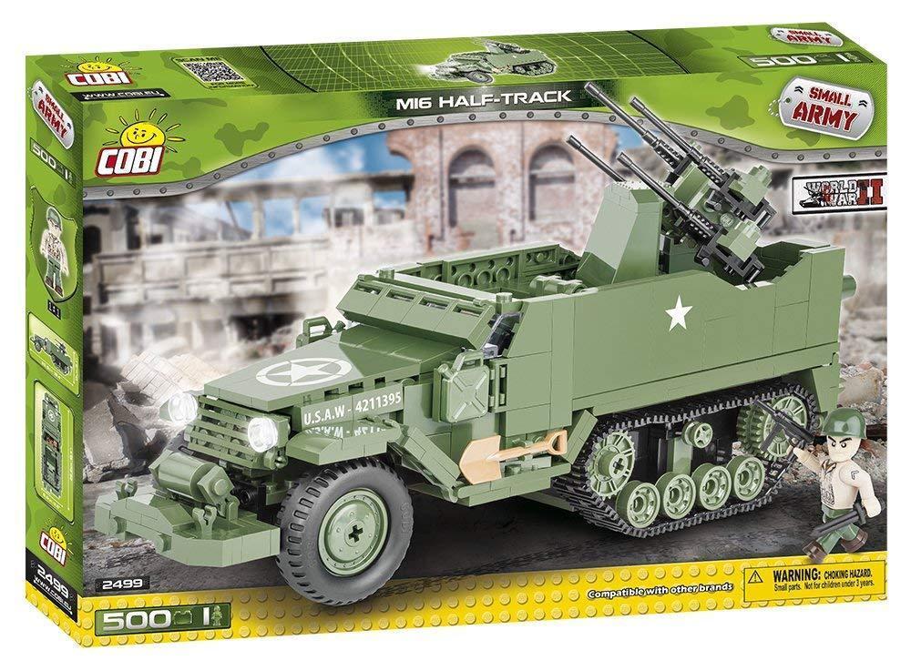 Cobi-M16 Half-Track, Color verde negro, 2499