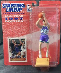 Starting Lineup 1997 John Stockton Utah Jazz With Upper Deck #SL10 Trading card