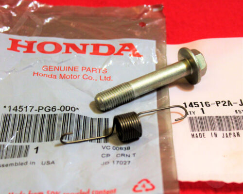 New Genuine OEM Honda CIVIC Timing Belt Tensioner SPRING /& BOLT