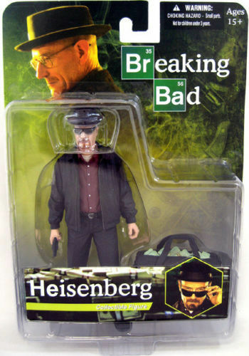 RARE HEISENBERG - Breaking Bad- MEZCO 6  Walter White Action Figure NEW in Box