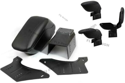 Auto apoyabrazos para Dacia negro de cuero archivador Armrest accoudoir brazo