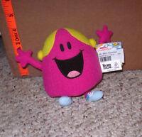 Little Miss Chatterbox Stuffed Animal Plush Doll Roger Hargreaves Retro Uk