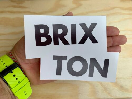 """Brixton Surf Sticker 6/"""" Large Skate Surfboard Snowboard Decal Made in USA"""