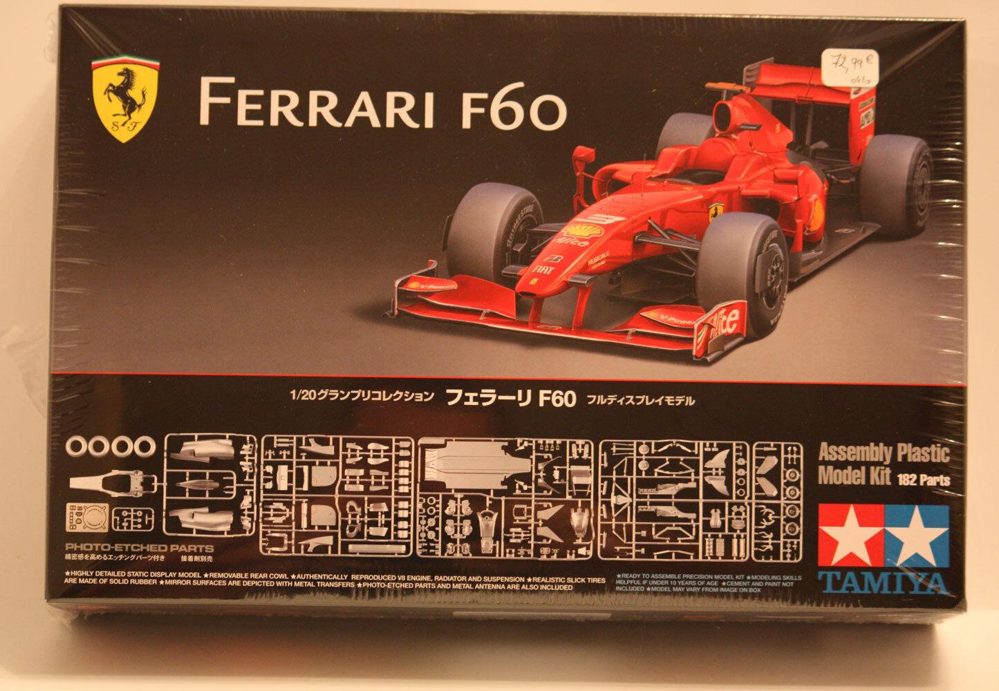 Tamiya F1 Ferrari F60 1 20 20059