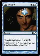 Opportunity  x4  EX/NM M14 Core Set MTG Magic Cards Blue Uncommon