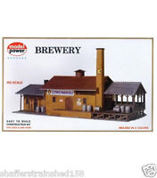 Model Power 451 Brewery - Kit Ho Scale