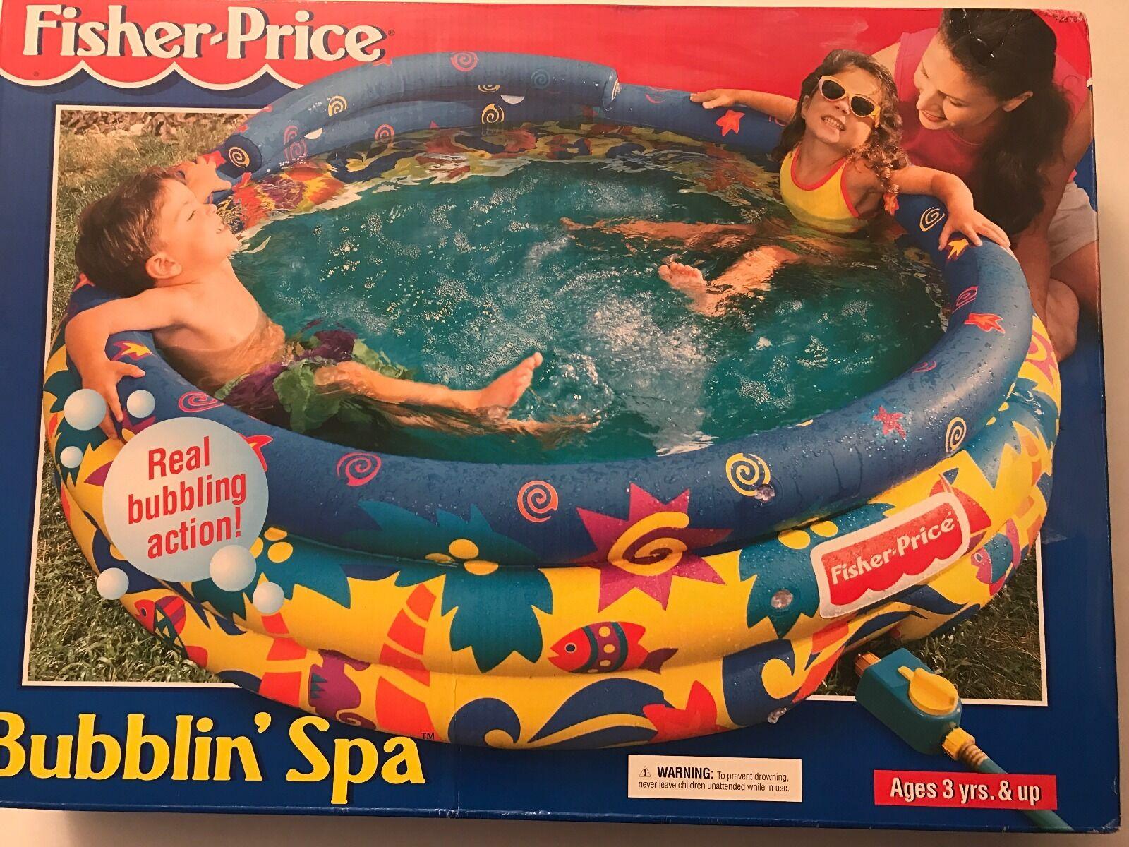 Fisher Price Bubblin Spa - New in låda