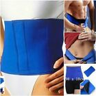 1*Waist Trimmer Exercise Wrap Belt Slimming Burn Fat Weight Loss Body Shaper New
