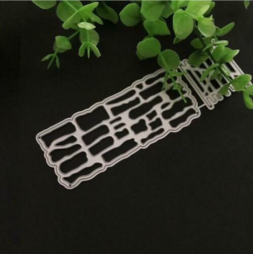 Zaun Wand Tor Metall Stencil Cutting Dies Scrapbooking Stanzschablone Decorative