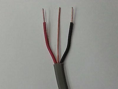 Red and Black Old colour twin and earth cable 1.0mm and 2.5mm