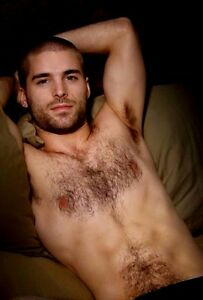 Handsome hairy men