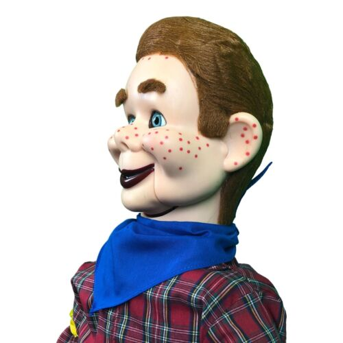 Howdy Doody Super Deluxe Upgrade Ventriloquist Dummy Doll Moving Eyes /& Brows!