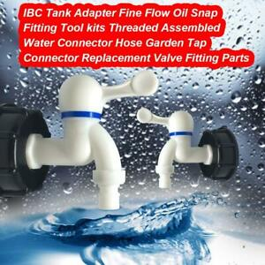 IBC-Tank-Adapter-Garden-Water-Tap-Tank-Cap-Connector-Valve-Fitting-Tools-S60X6