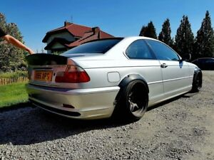 Details About Bmw E46 Spoiler Wing Csl Style Not Ducktail Drift By Musk Customs