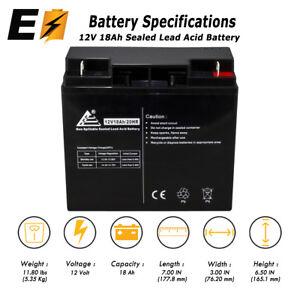 Details about ExpertBattery 12v 18ah for 20Ah BB Battery HR22-12, HR22