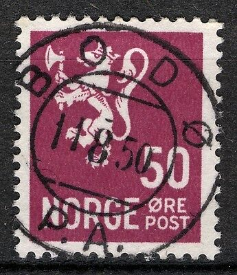Norway 1940-41 no Clear And Distinctive Nk 251 Son Bodø 11.8.50