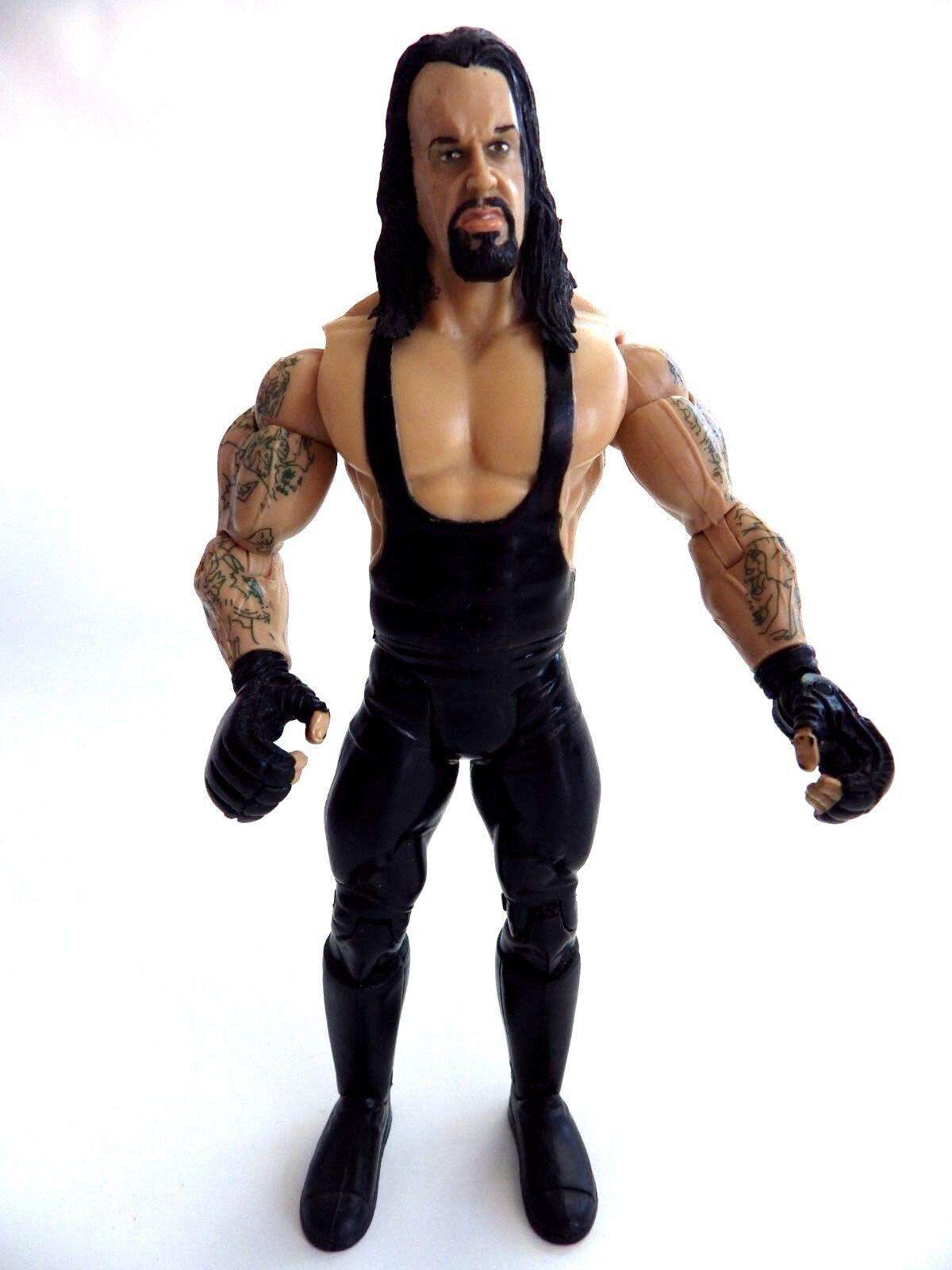 Figura articulada action Figura WWE UNDERTAKER DE LA WWF WWF WWF 18 cm Jakks 2004 495682