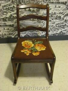 Image Is Loading Duncan Phyfe Rocking Chair Rocker Tell City Chair