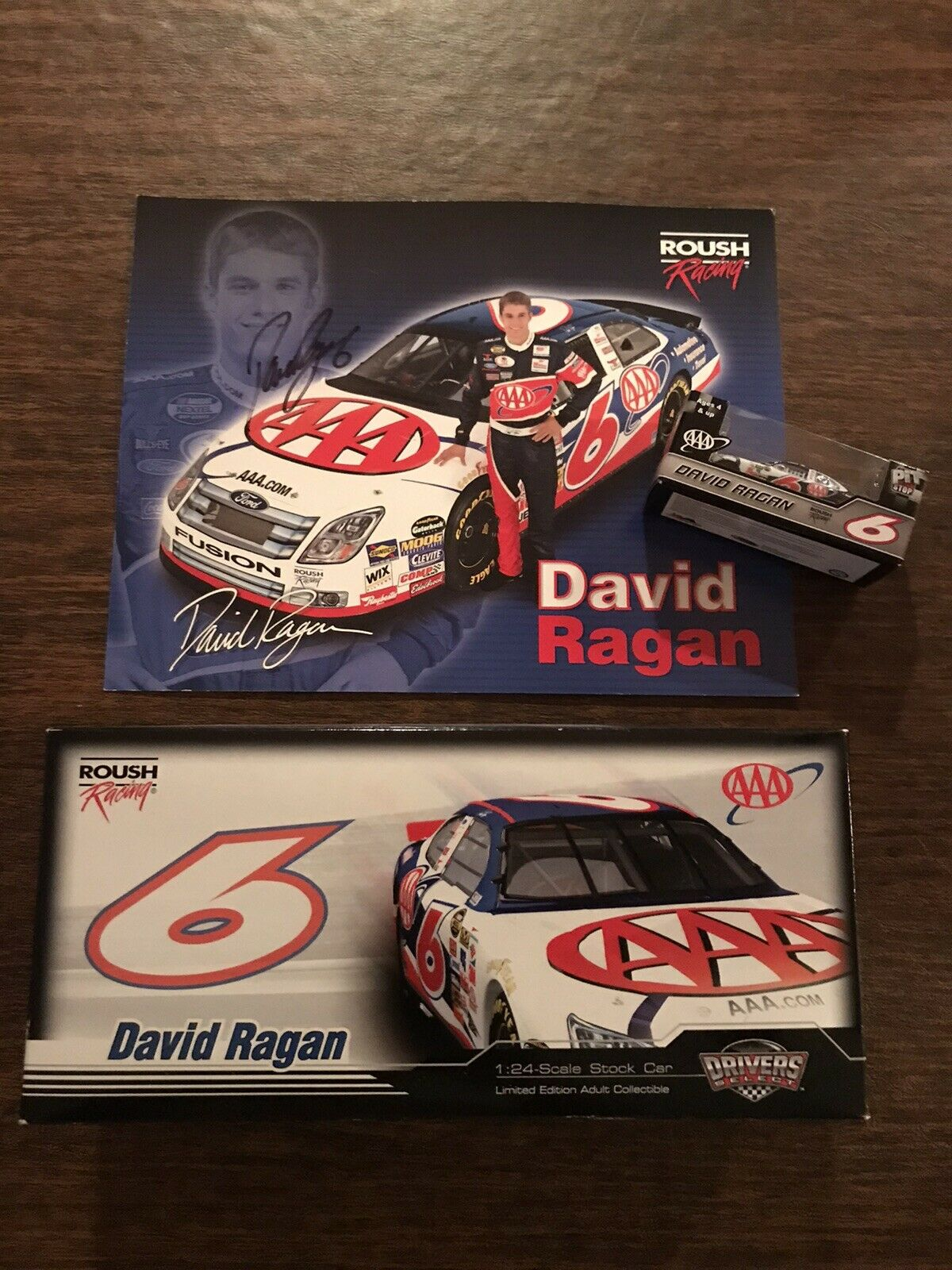 David Ragan Autographed  06 AAA 2006 Roush Racing Bundle