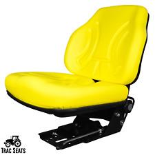 Yellow Tractor Suspension Seat For John Deere 5303 5310 5320 5400 5403 5410 5420