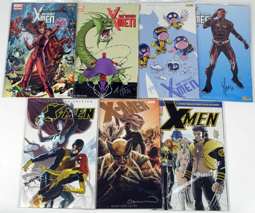 signiert Marvel Now zT Variants Panini zur Auswahl Die neuen X-Men