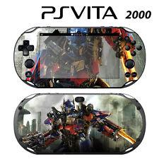 Vinyl Decal Skin Sticker for Sony PS Vita Slim 2000 Transformers Optimus Prime 1