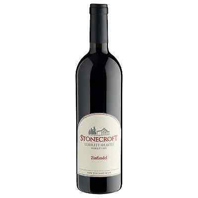 Stonecroft Zinfandel 2014 case of 6 Dry Red Wine 750mL Hawke's Bay