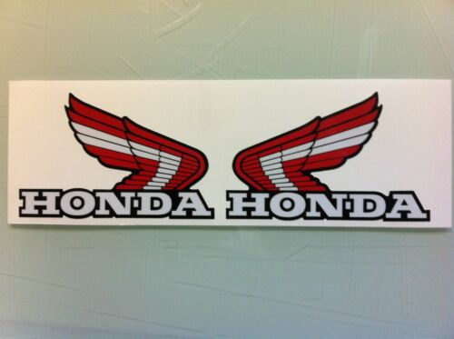 Honda Custom Red ATC Wings Decals Stickers ATC350X 200X 250R ATC250R ATC200X 70
