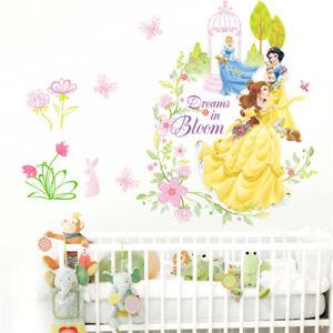 Princess Castle Wall Sticker Large Vinyl Decal Girl Kids Bedroom Art Cartoon Big