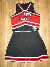 Real Bulldogs Cheerleader Uniform Outfit Costume Cheer Fun Youth 2XL 34/28