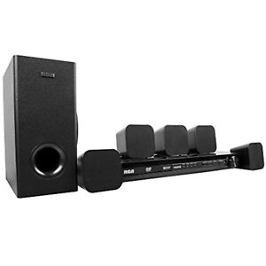 RCA-Home-Theater-System-RTD3276H-DVD-5-pc-Speakers-Surround-Sub-Woofer-HDMI-HD