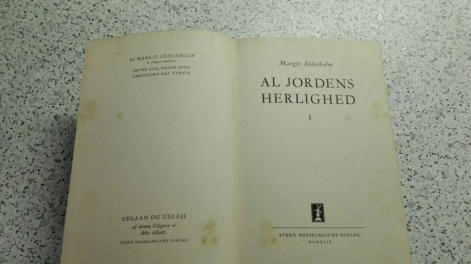 Al jordens herligheder, Margit søderholm, genre: eventyr