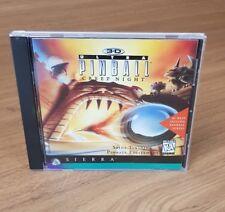 3d Ultra Pinball Creep Night PC CD ROM Windows 95 for sale