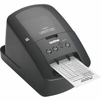 Brother Ql-720nw Professional Monochrome Label Printer Dk Die-cut Paper Tape