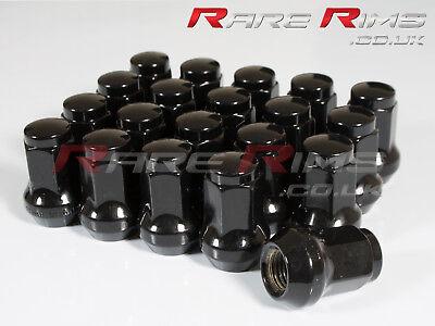 Chrome Hex Wheel Nuts x 20 12x1.25 Fits Subaru Impreza STI WRX ...