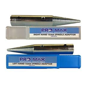 """Pro-Max 16 mm 5-8"""" Touret Métal Polissage Broche adaptateurs Set-afficher le titre d`origine 6vi3HFHt-07184513-754802764"""