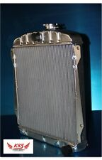 KKS 3 ROWS ALUMINUM RADIATOR FOR 1946-1948 CHEVY CAR V8 ENGINES