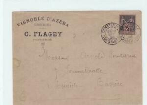 france 1895 stamps cover ref r15836